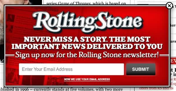 Rolling Stones Door Slam