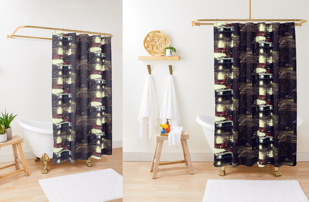 Shower Curtains by thespeedart