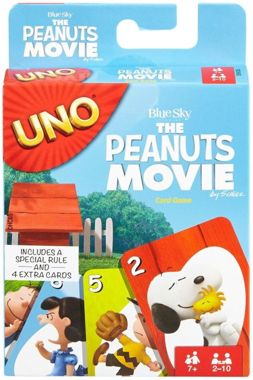 Peanuts Movie Uno