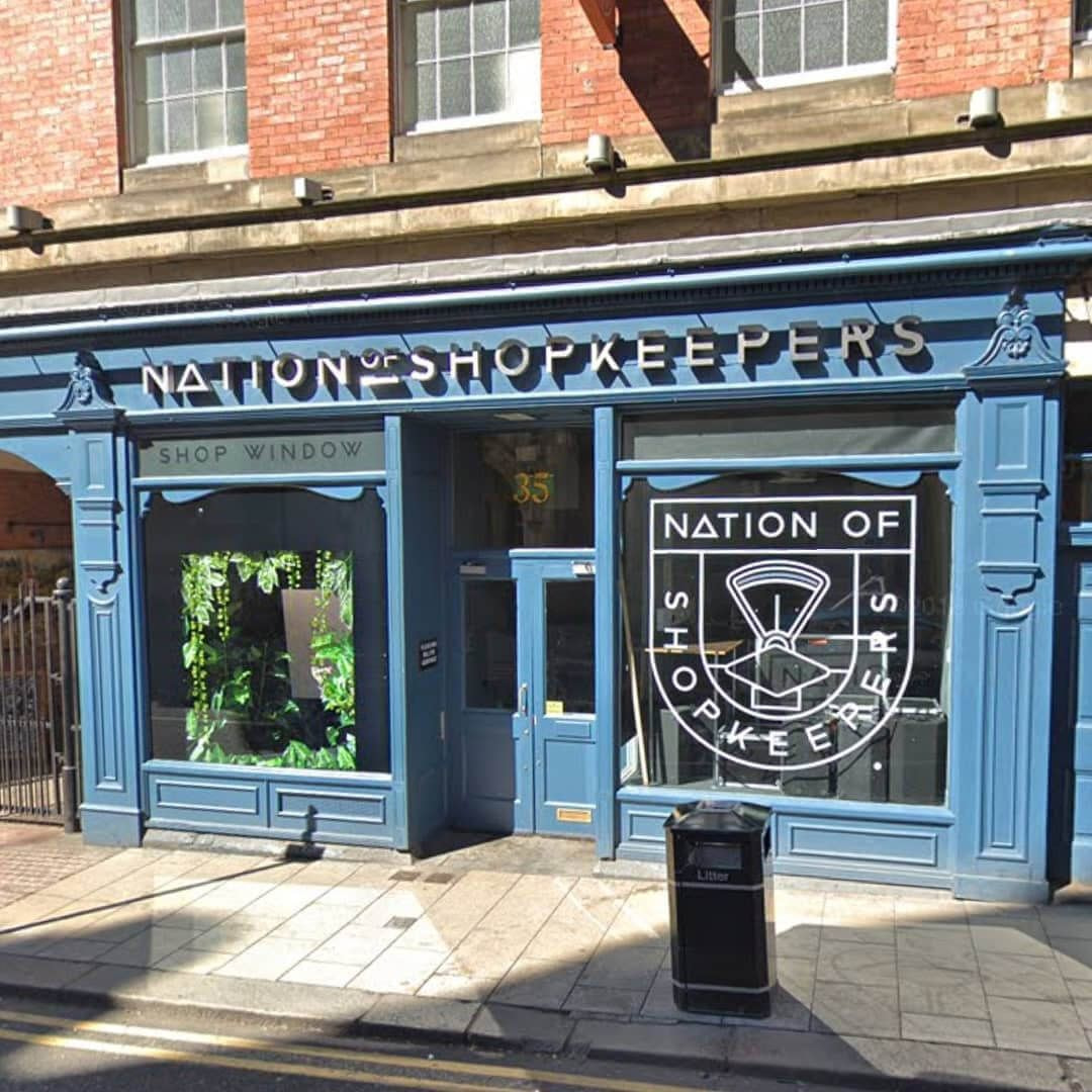 Front of Nation of Shopkeepers