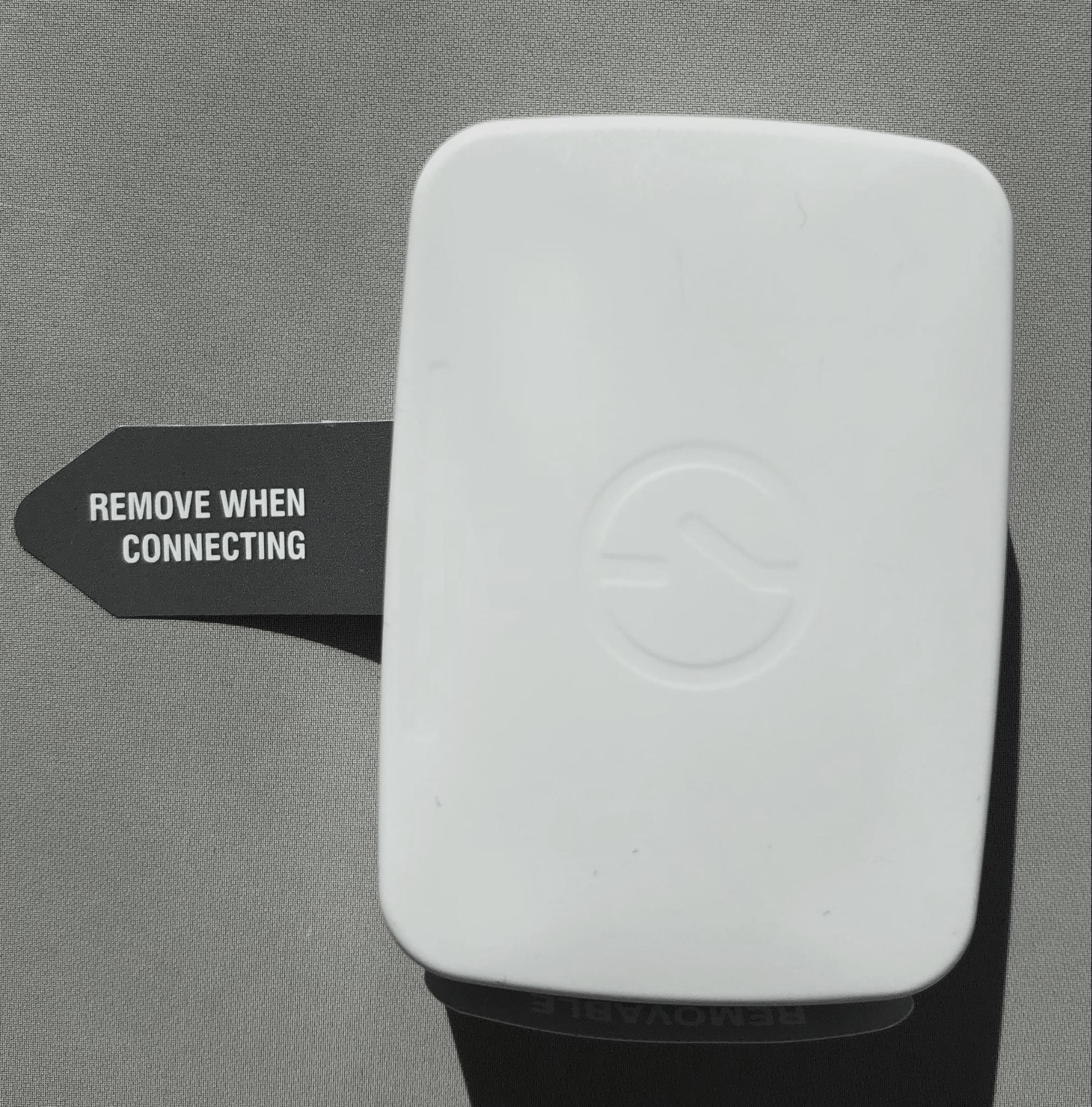 sensor battery tab