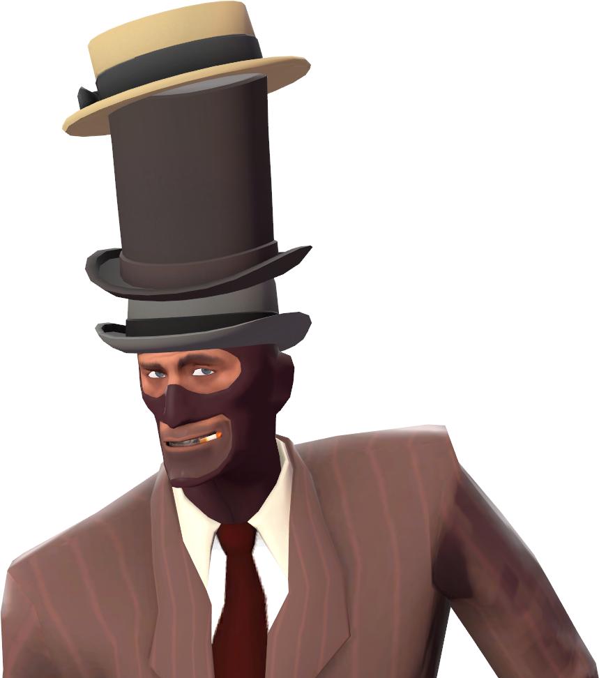 A Towering Pillar of Hats. https://wiki.teamfortress.com/w/images/f/f5/Towering_Pillar_of_Hats.png