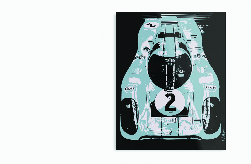 Porsche 917K Metal Print by thespeedart
