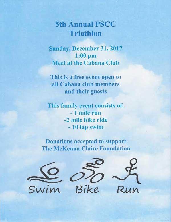 5th Annual Triathlon