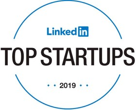 Logotipo do prêmio LinkedIn Top Startups
