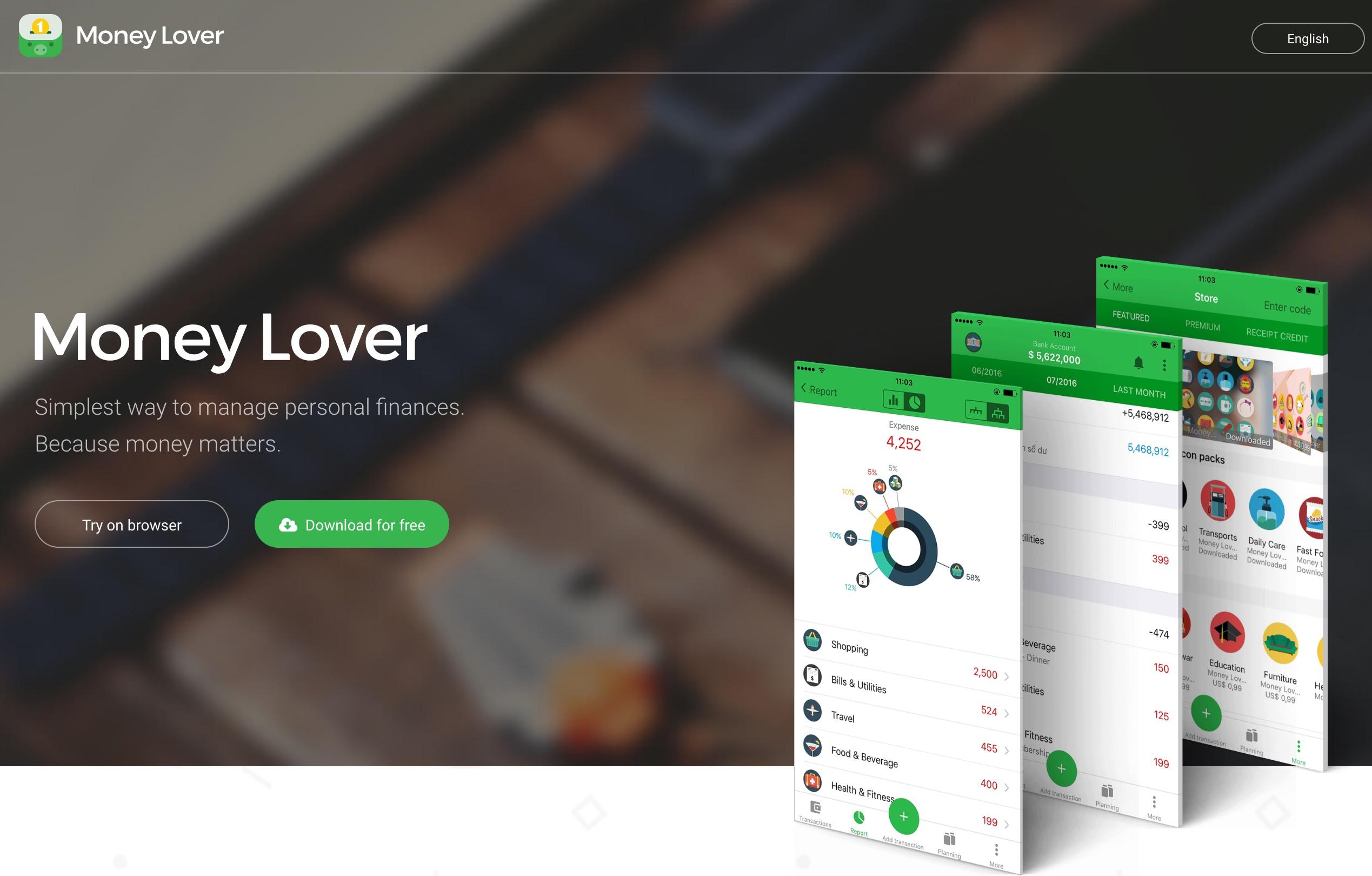 Review: Money Lover, aplikasi manajemen keuangan