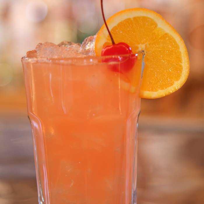 Malibu Twister Cocktail
