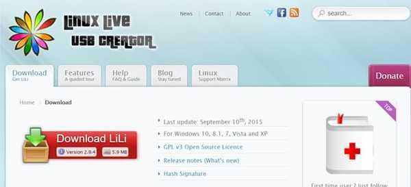 Linux Live USB Creator Rufus Alternative