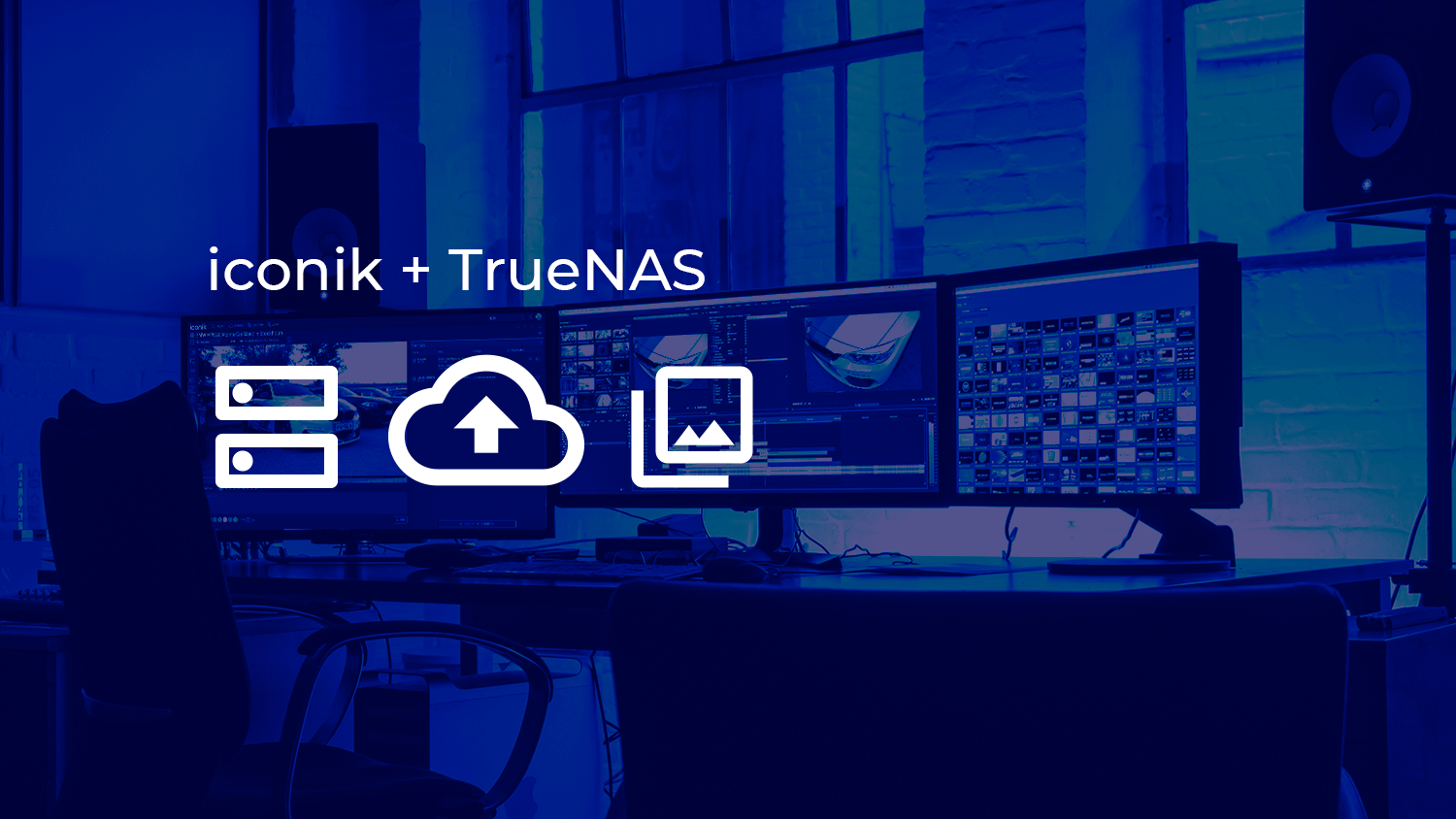 image from iconik + TrueNAS, A Turnkey Hybrid Cloud with Media Management