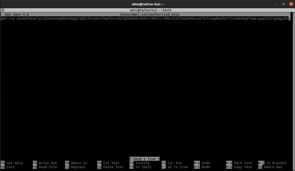 DigitalOcean User SSH Key Add
