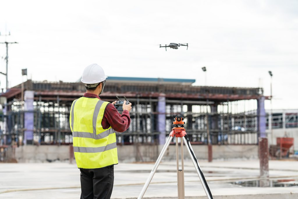 Drone services for Construction, Drone services for  buildings, Construction Site Mapping