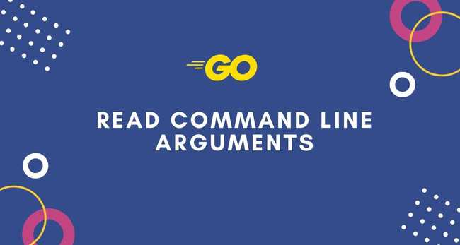 Reading command line arguments in Go