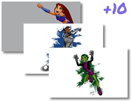 Teen Titans theme pack