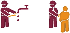 Billy Regnskabsprogram og Minuba logo