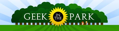 Geek in the Park logo