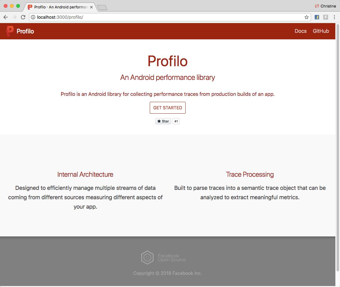 Website Initial Design