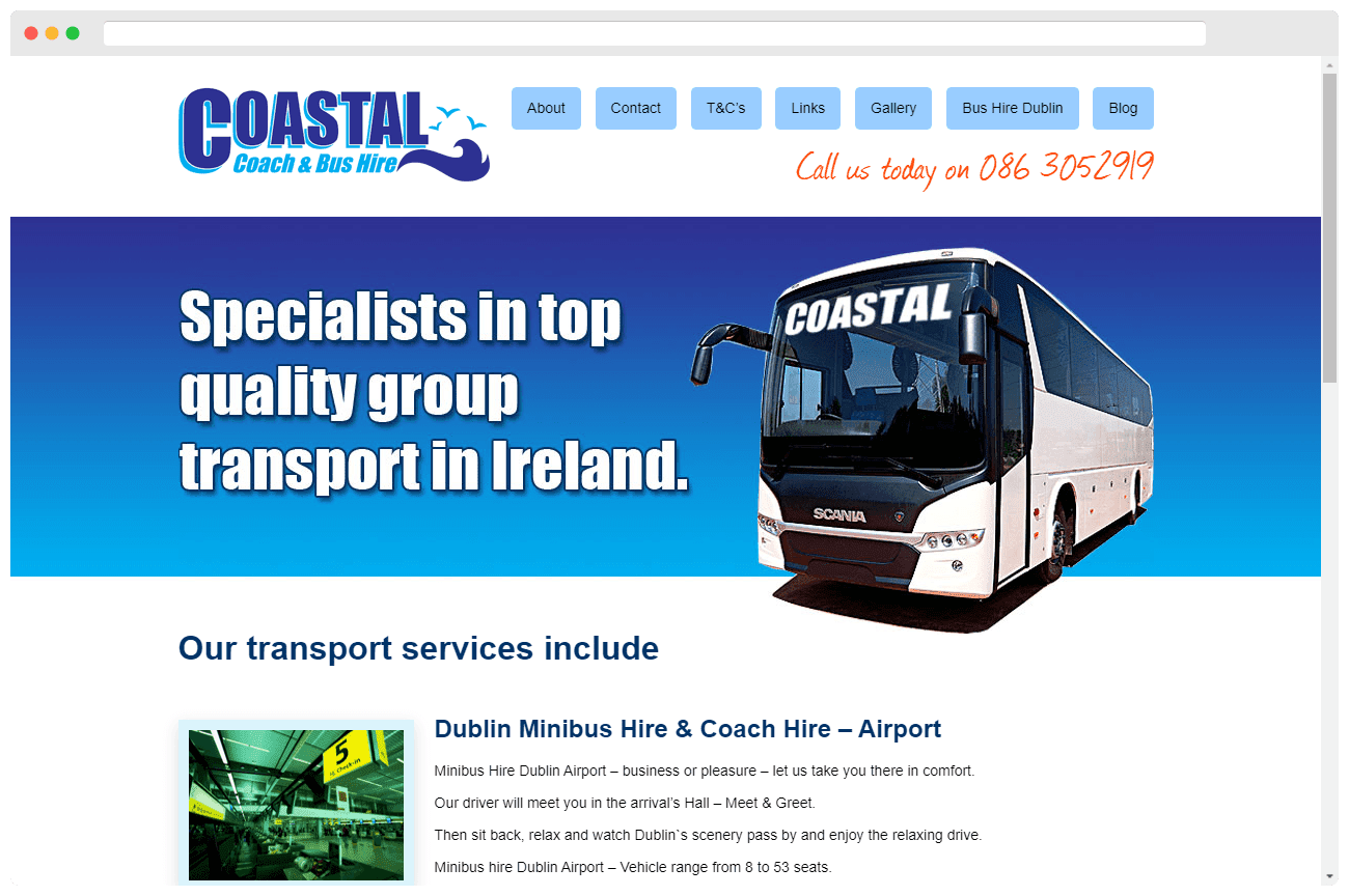 Coastal Coach and Bus Hire