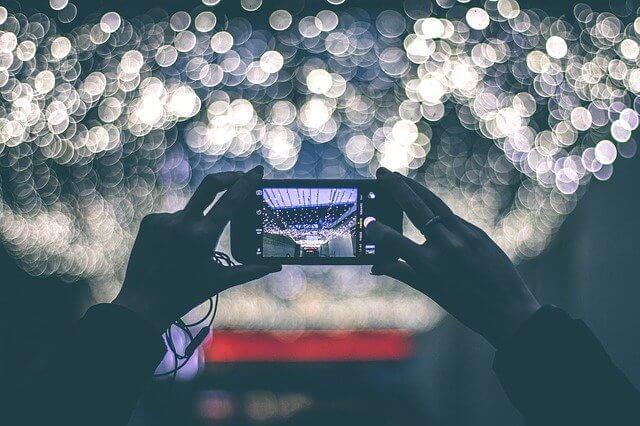 Foto em movimento com o celular