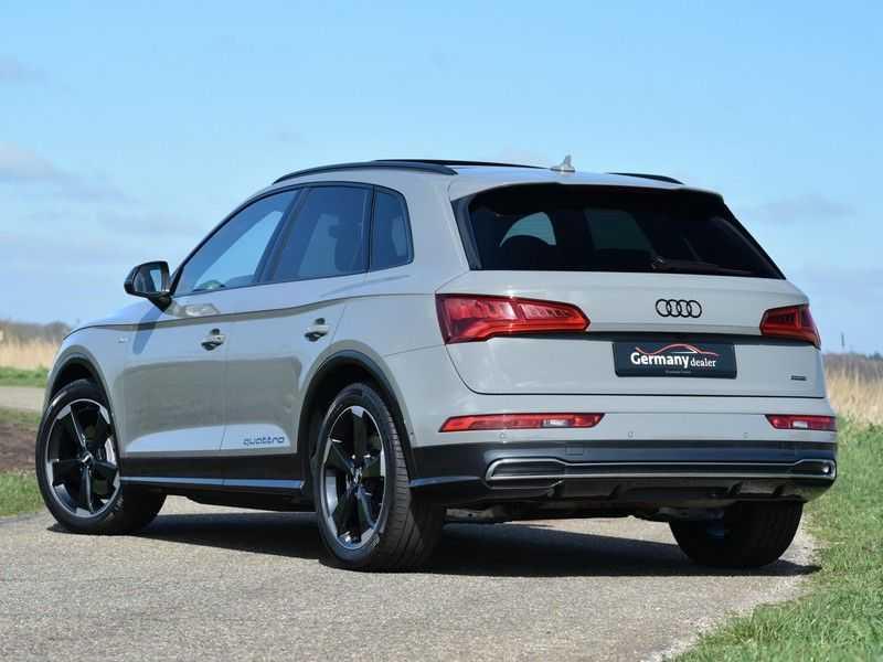 Audi Q5 2.0TFSI 252pk Quattro Black Optic Alle Opties! Lucht Tr.Haak Ruitleder Carbon Matrix Pano 20-Inch afbeelding 14