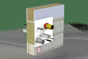 Rješenje - Protupožarno brtvljenje svih vrsta instalacija (kabeli i cijevi)