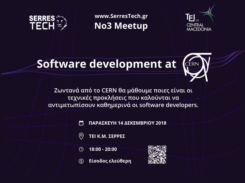 CERN presentation - Meetup No3 2018-2019
