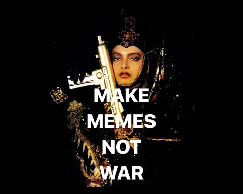 Outsiders ~ Abhinit Khanna : Make Memes not War
