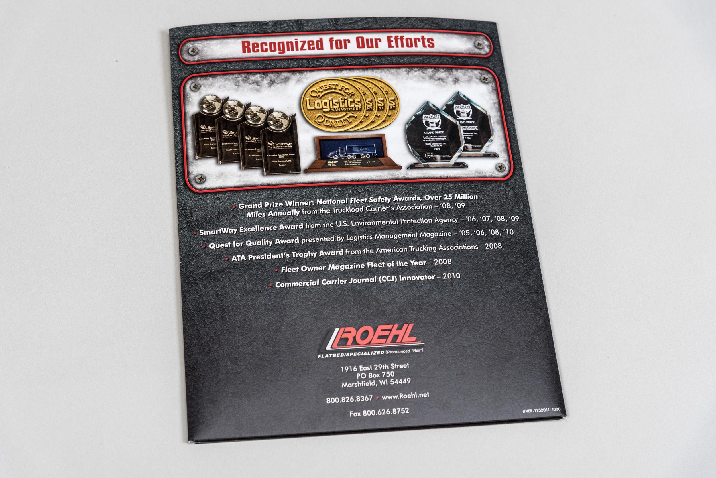 Roehl Brochure Back