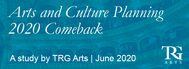 Arts and Culture Planning 2020 Comeback