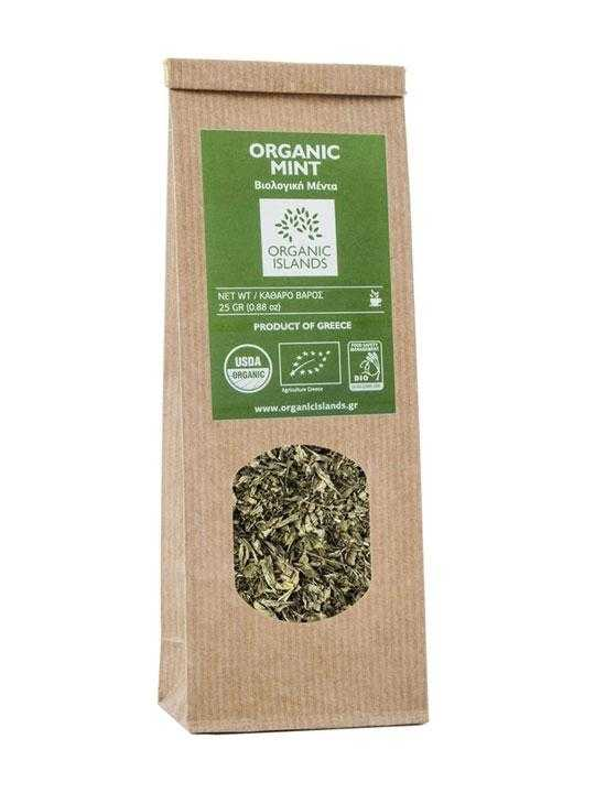 Organic mint from Naxos - 25g