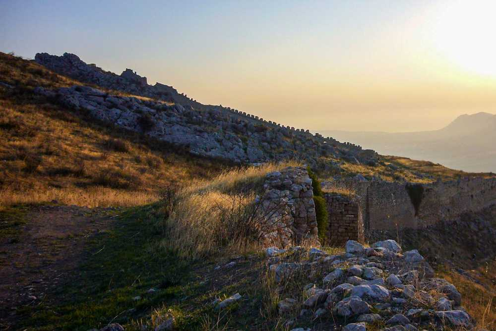 Fortifications, Corinth