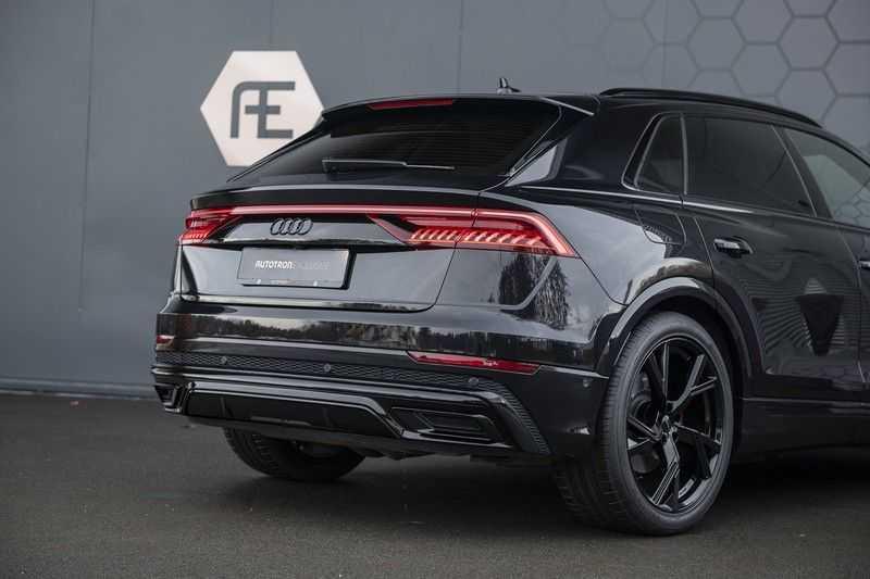 Audi Q8 55 TFSI quattro Pro Line S 3x S-Line! Black pack, 4-wiel-best. / Massage, Verw. & Koelb. stoelen, Bang & Olufsen 3D + Elek.Haak + Ambiente verlichting afbeelding 10