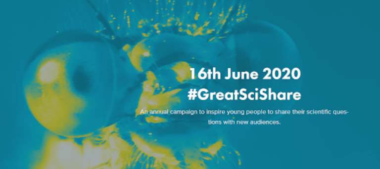 Join The Great Science Share for Schools 16th June 2020