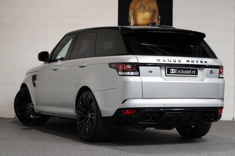 "Land Rover Range Rover Sport 5.0 V8 SVR Pano, 23"", Schaalstoelen, Carbon, afbeelding 2"