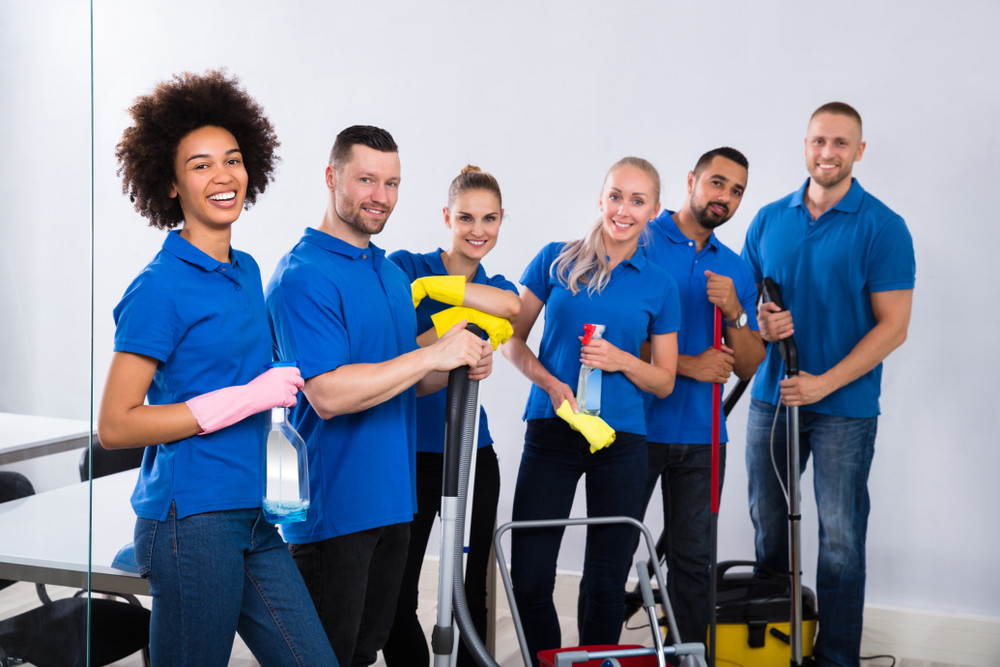 grow my cleaning company with a larger team