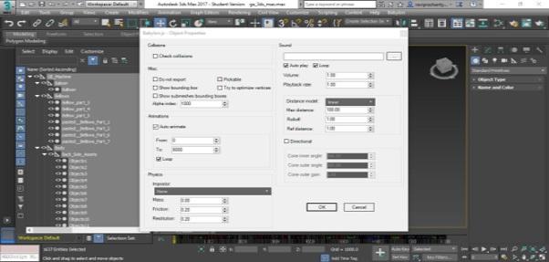 3DSMax to glTF - Babylon js Documentation
