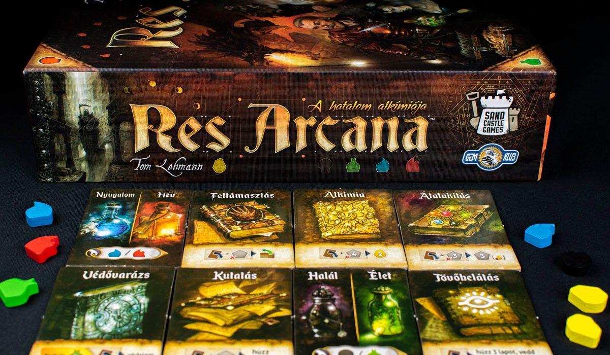 Res Arcana – a kombinációk gyors stratégiai társasjátéka
