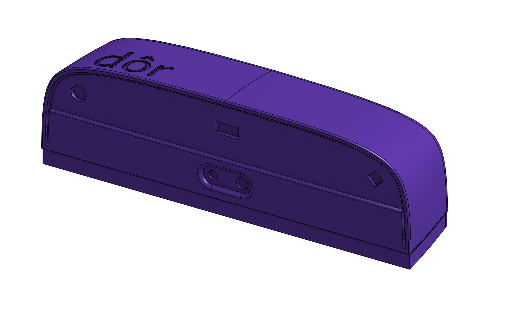 Dors new sensor, actual size