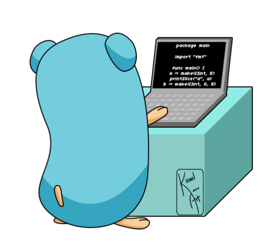 Gopher writing code