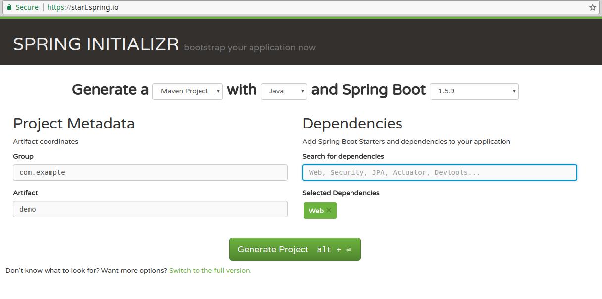 spring_initializer