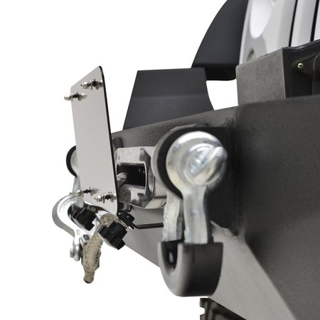 EAG Winch hawse license plate mount