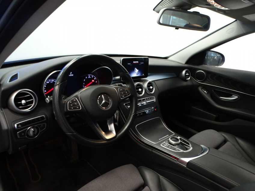 """Mercedes-Benz C-Klasse 350 e Lease Edition Ex BTW! Avantgarde Navigatie Clima Cruise Trekhaak LED 17""""LM afbeelding 5"""
