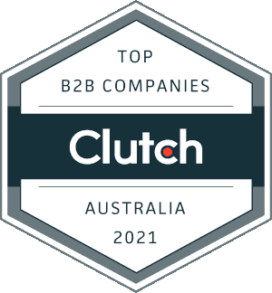 Rocketships selected within clutch.co 2021 top service companies Australia