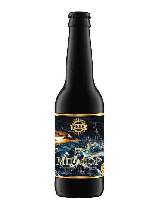 Beer Nissos 7 Beaufort - 0.33l