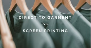DTG vs Screen Printing: Which Method Should You Use?