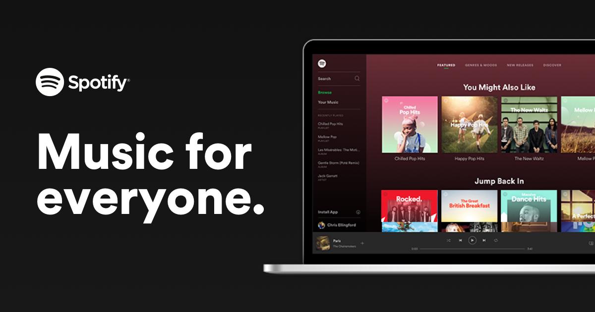 Spotify personalized playlists.