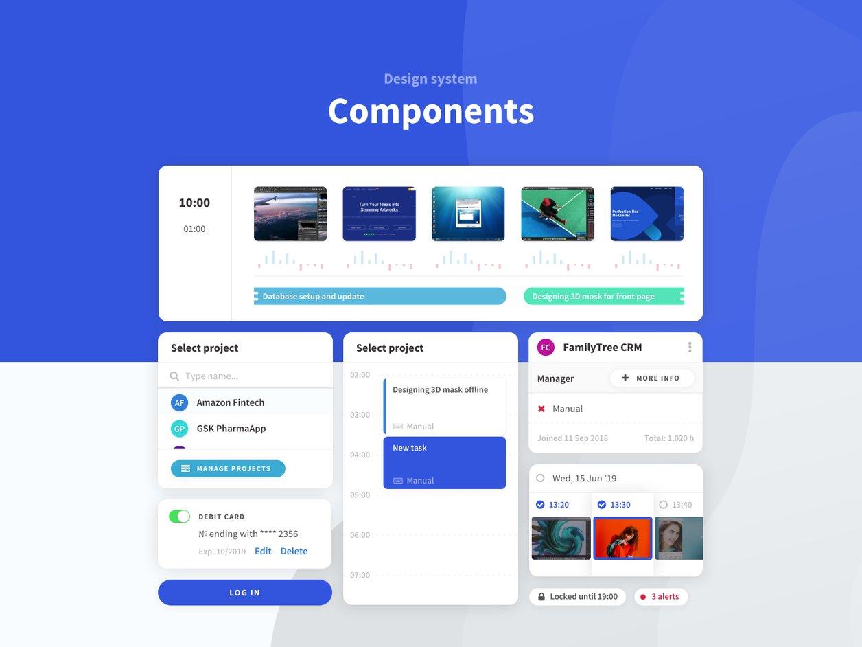 UI Component Design - UX Design | Tahometer