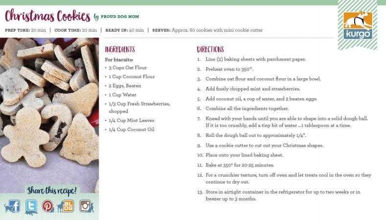 Holiday Recipe: Christmas Cookies