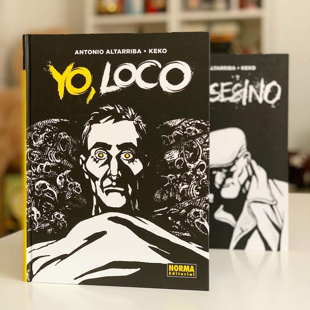 """Imagen de Reseña de """"Yo loco"""", de Antonio Altarriba y Keko"""
