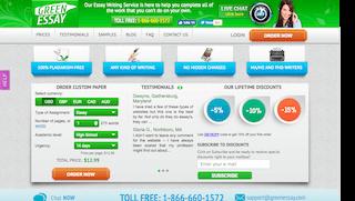greenessay.com main page