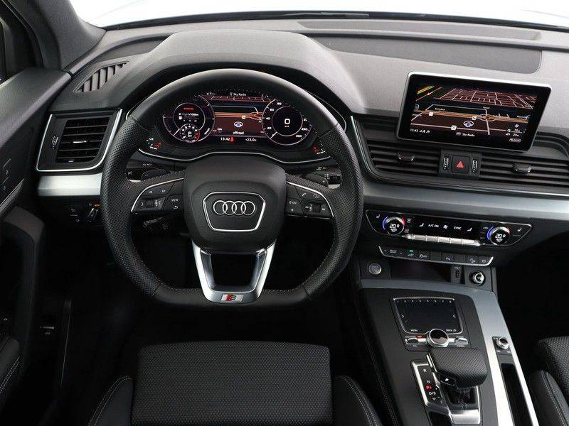 Audi Q5 50 TFSI e 299 pk quattro S edition | S-Line | Trekhaak | Elektrisch verstelbare/verwarmbare voorstoelen | Privacy Glass | Verlengde fabrieksgarantie afbeelding 3